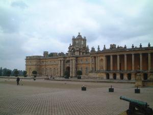 ブレナム宮殿の一部